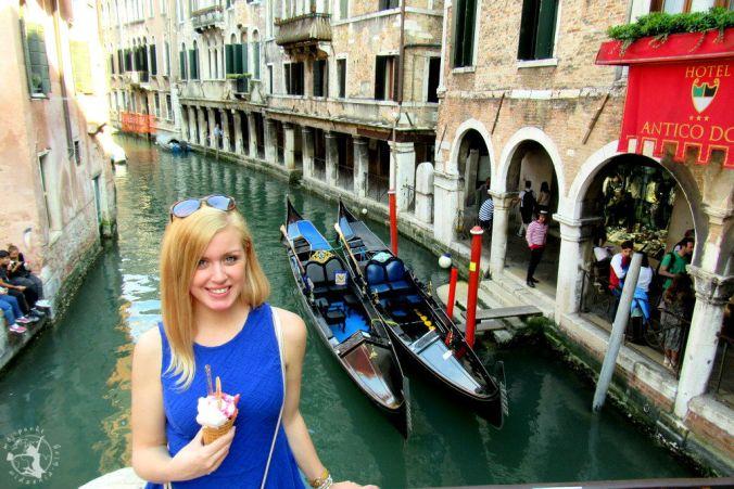 Mój Punkt Widzenia Blog - lody w Wenecji