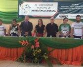 XII Conferência Municipal de Assistência Social.
