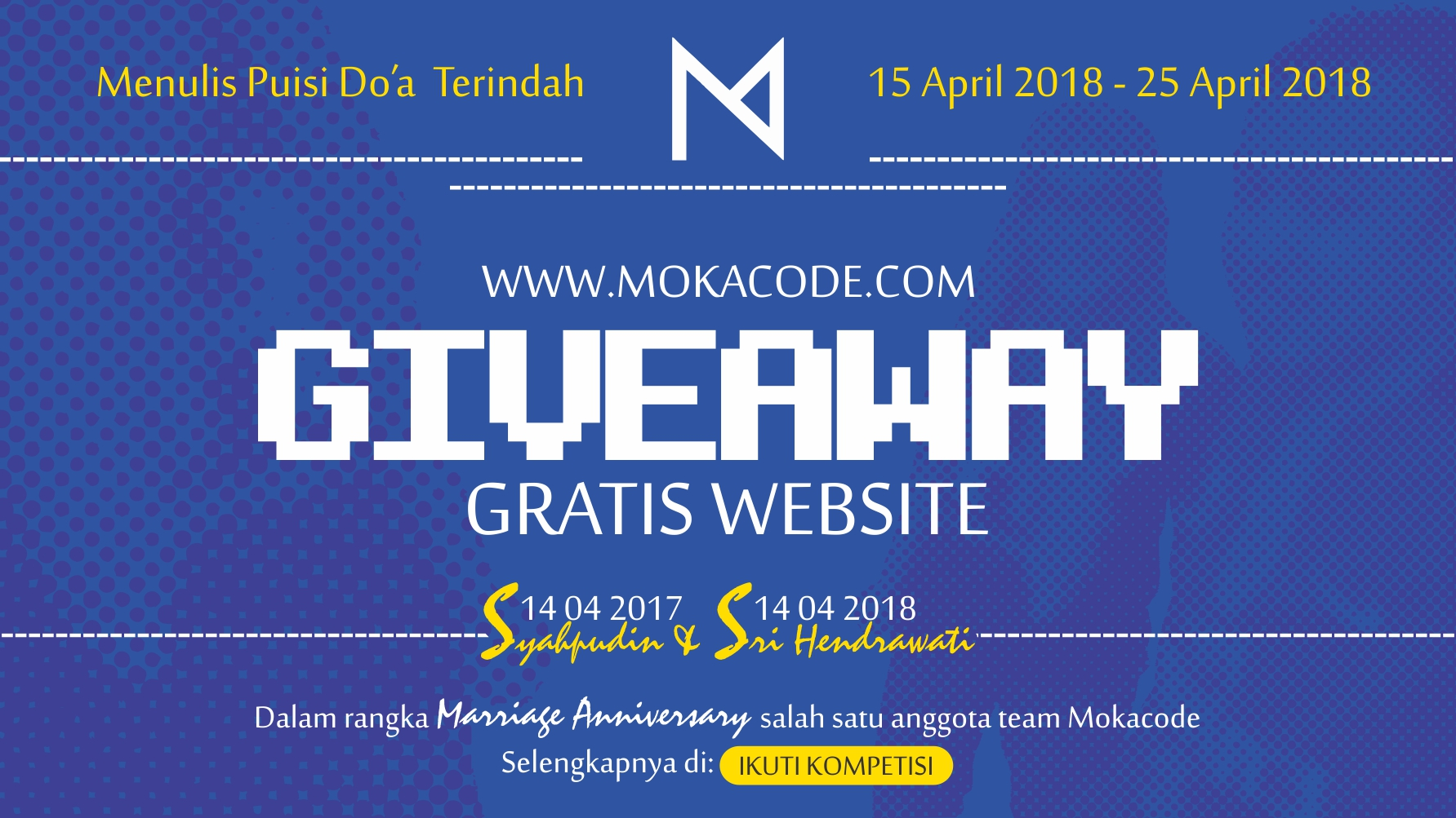 BANNER WEB GIVEAWAY GRATIS WEBSITE