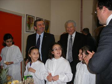 Il ministro Profumo alla scuola di Roma