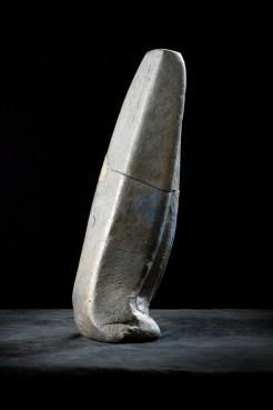 Urn, klei met zeefdruk
