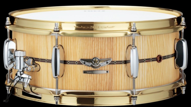 """TAMA STAR Reserve Snare Drum Stave Ash """"TVA1455S-OAS"""" -Limited Product-試奏レポート"""