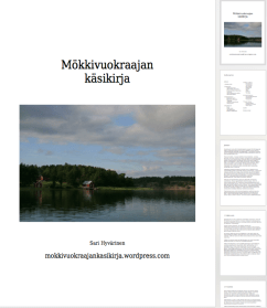 Mökkivuokraajan eKäsikirja