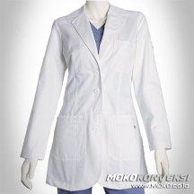 Contoh Desain Jas Laboratorium Baju Putih Perawat
