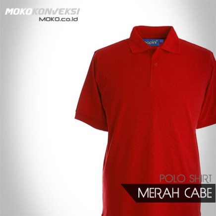 Desain Kaos Polo Berkerah Konveksi Polo Shirt polos warna merah