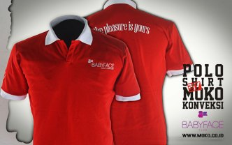 Moko Konveksi Semarang Pabrik Kaos Polo Shirt Babyface