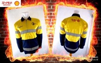 Pakaian Keselamatan Baju Wearpack Shell Brunei Darussalam