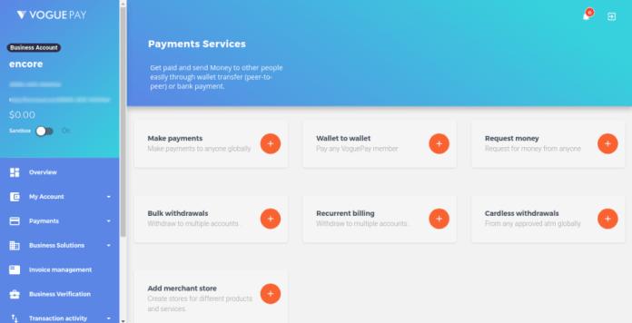 VoguePay payment services