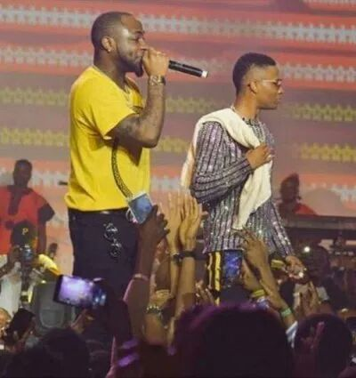 WizKid and Davido { Highest Paying Jobs In Nigeria }