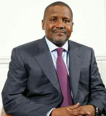 Aliko Dangote richest man in Nigeria