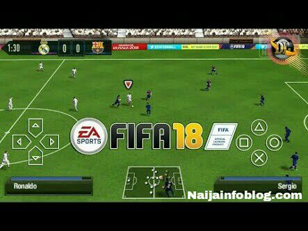 Download FIFA 18 ISO PSP for PPSSPP Emulator Apk Android