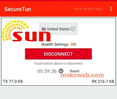 Sun Philippines free internet securetun vpn