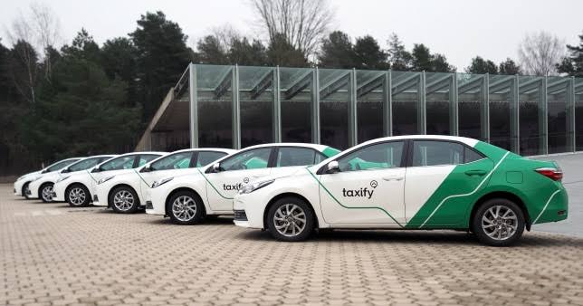 Taxify Online Taxi Services