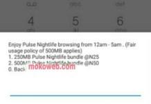 MTN 250mb for n25 night plan