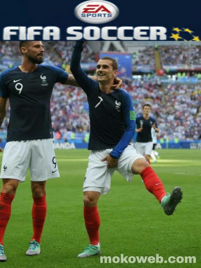 Fifa soccer apk players celebration