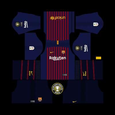 fef794aa9 Latest Dream League Soccer 18 19 Kits   Logo Pack