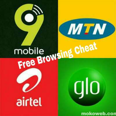 Free Browsing Cheat September 2019 for MTN, Airtel, Glo