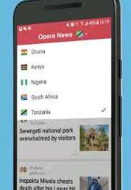 Opera news app