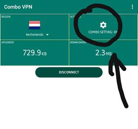 Combo VPN Settings