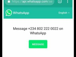 whatsapp chat without saved contact