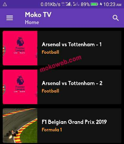 Moko tv app