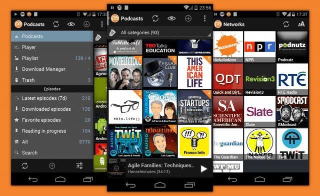 Podcast addict best podcast app