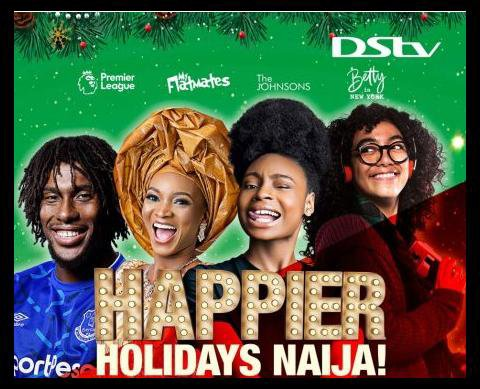 MultiChoice happier holiday naija popup