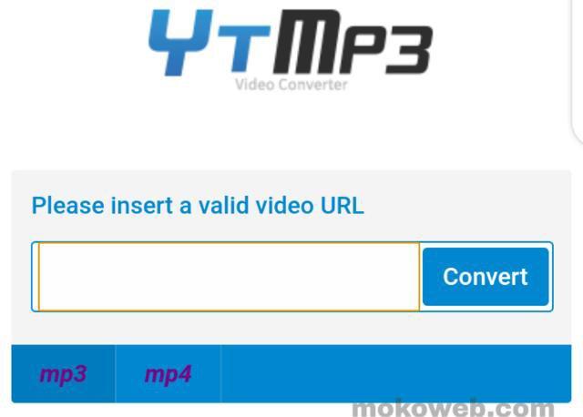 Ytmp3 youtube to MP3