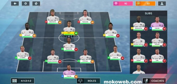 Dream league soccer 2020 formation