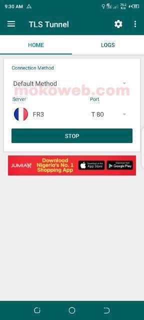 Tls tunnel vpn app