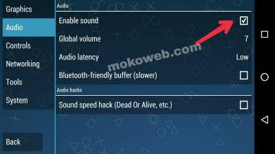 Best PPSSPP Settings audio