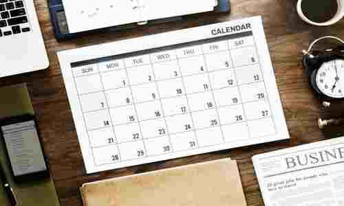 calendar for content marketing