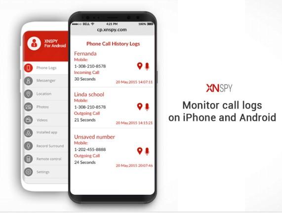 xnspy call monitoring