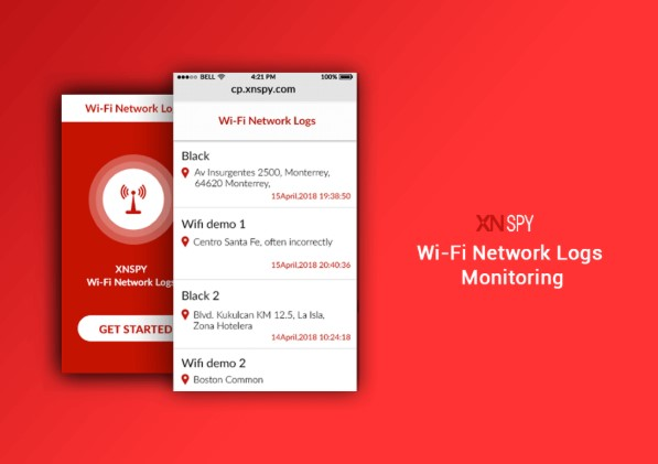 xnspy wifi network logs