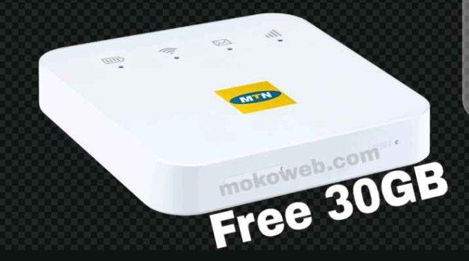 MTN mifi 30gb data cheat