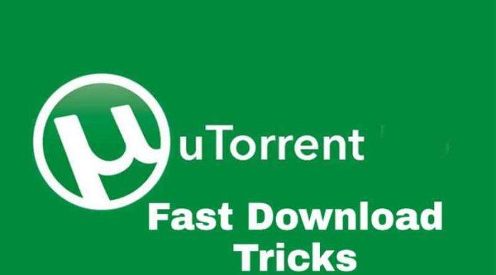 Utorrent trick make download faster