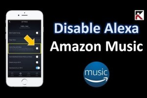 disable alexa music