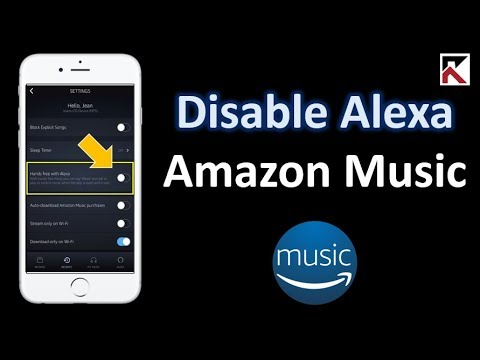 disable amazon music on alexa