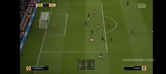 FIFA 21 psp gameplay