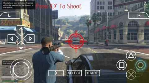 GTA V PPSSPP gameplay