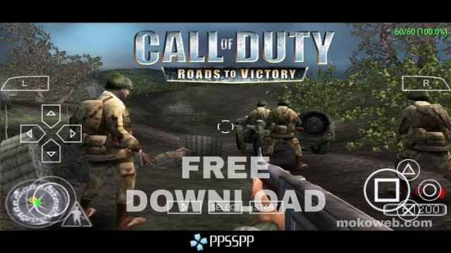 Call of duty road to victory ppsspp