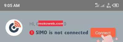Connect simo app