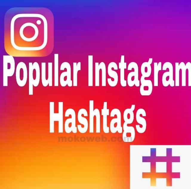 Popular Instagram hashtags