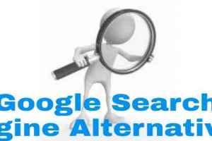 Search engine alternatives
