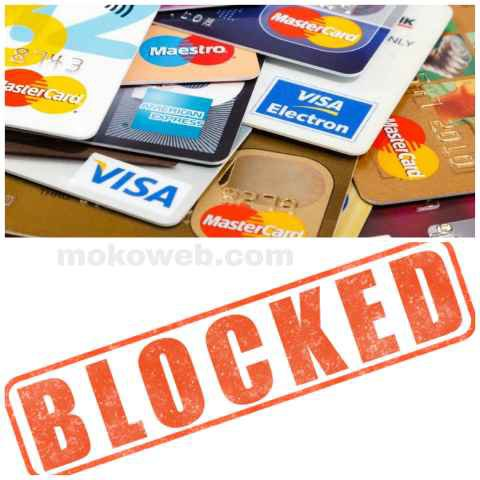 Block ATM card
