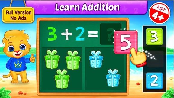 maths kids