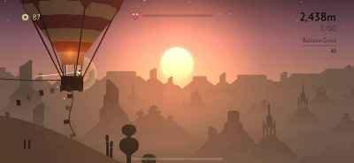 Alto Odyssey hot balloon