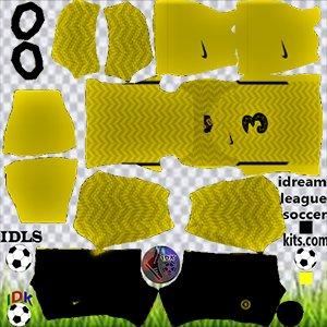 Dls 22 Chelsea Goalkeeper home kit