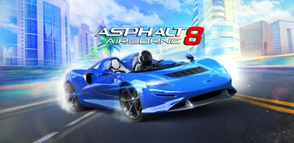 asphalt 8 - best racing game for android