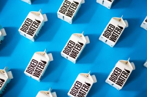 boxed water successful product
